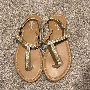 Candies Rhinestone Sandals